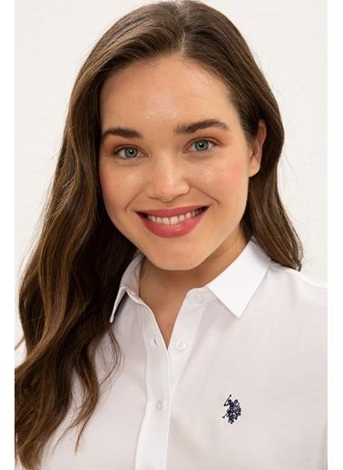 U.S. Polo Assn. Gömlek Beyaz